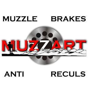 Muzzart muzzle brakes logo